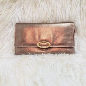 Kate Landry NWT Gold Wallet